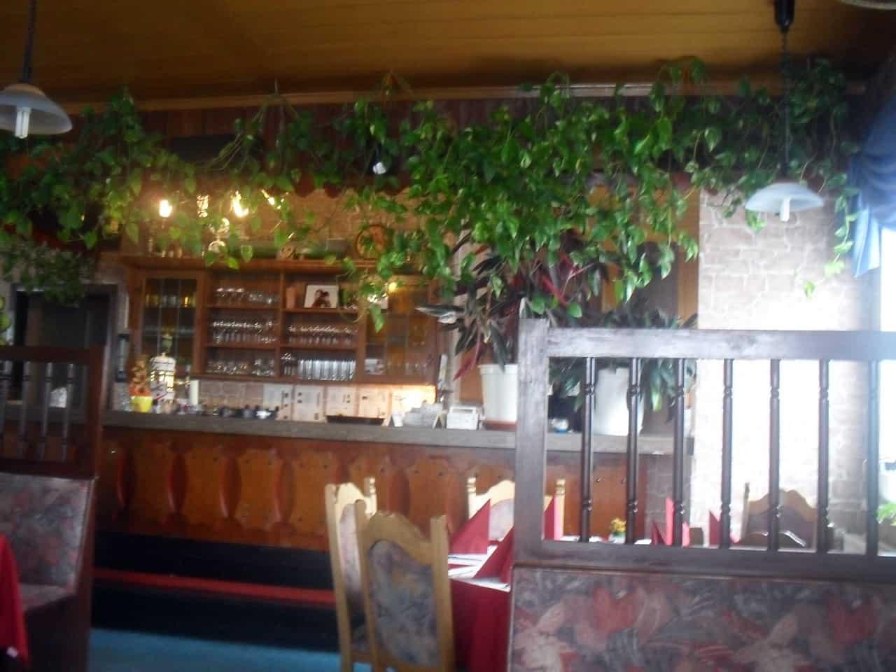 Die Bar im Adria Grill Ermsleben