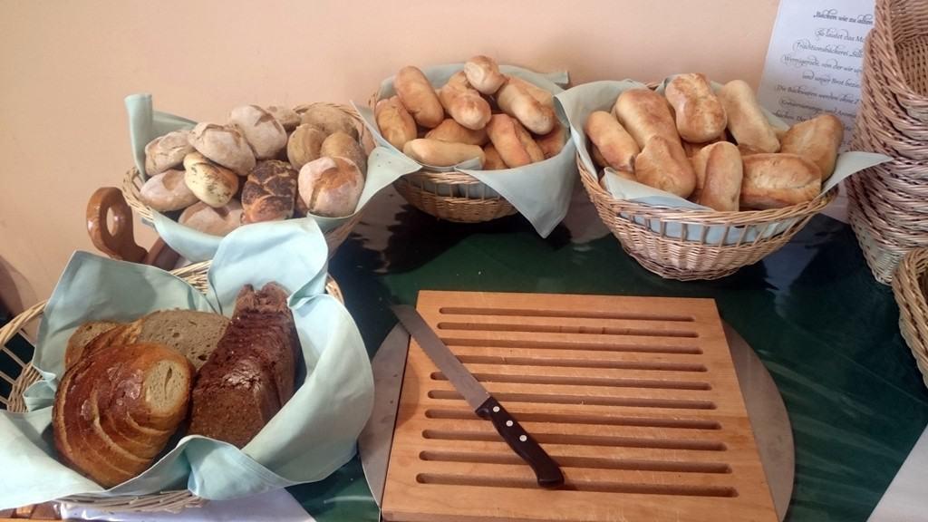 Brot und Brötchen im Brockenhotel