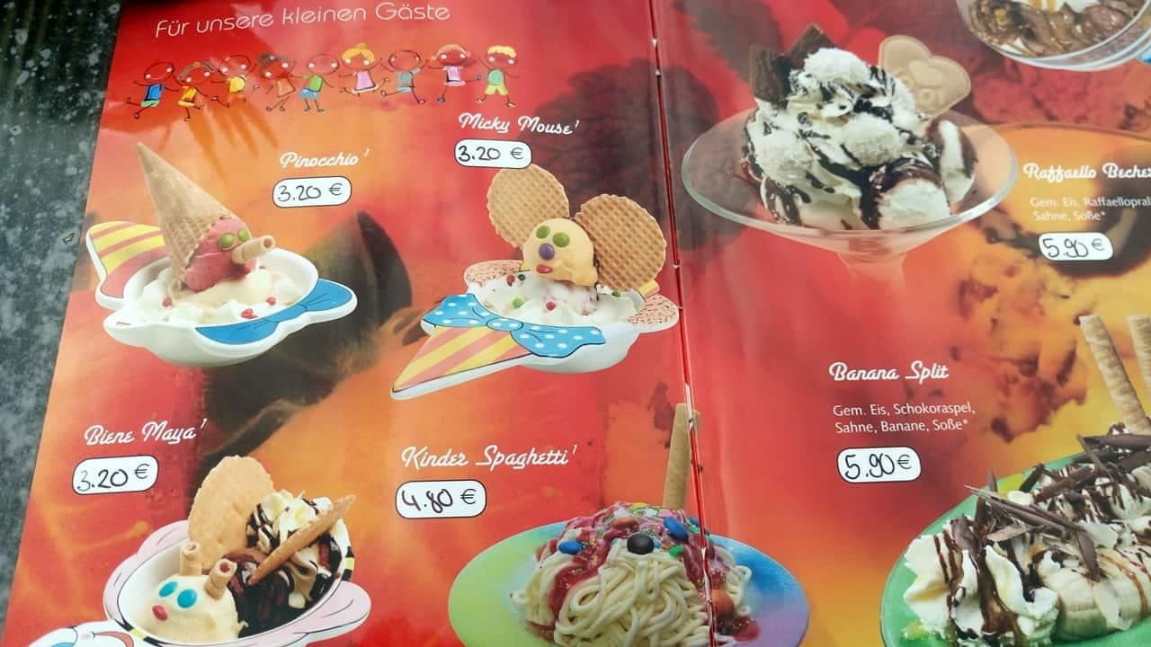 Eiscafe Asgard Thale Speisekarte 1