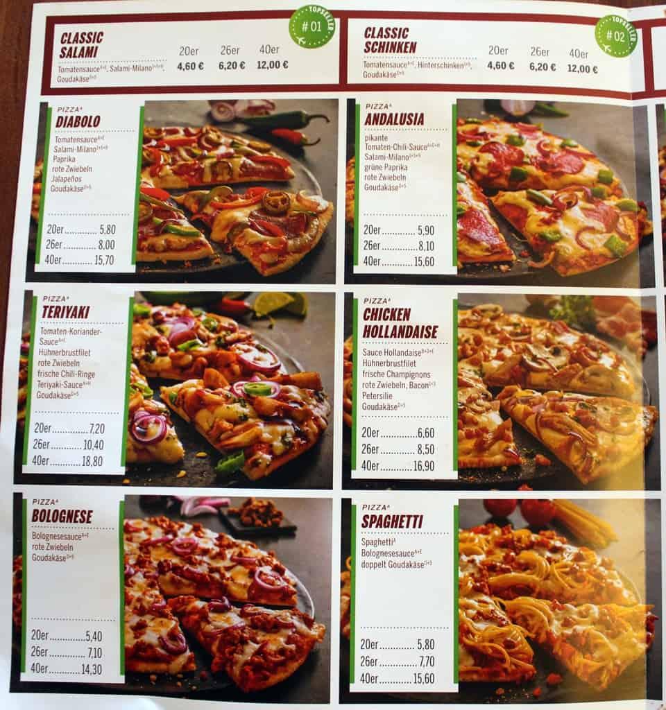 Flying Pizza Aschersleben Flyer